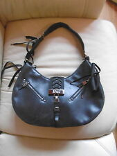 Ladies Christian Dior Black Handbag Bag Genuine