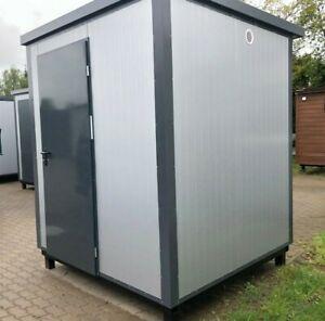 WC- Toilettenkabine Sanitärcontainer Toilette Toilettenhaus WC-Kabine mit Urinal