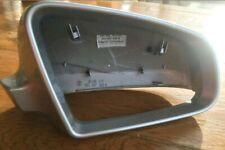 Audi A3 8P A4 B6 B7 A6 C6 Silver OS Right Door Mirror Housing Cover 8E0857508B