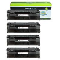 4Pack 53A Q7553A Toner Cartridge Compatible For HP LaserJet P2015dn M2727nfs MFP