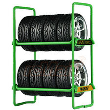 NZO RC Tire Rack Green EP 1:10 RC Drift Touring Car On Road #N010GR1