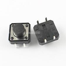 10Pcs Momentary Tactile Tact Push Button Switch 4 Pin DIP 12x12x7.5mm