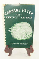 Cabbage Patch Famous Kentucky Recipes Louisville 1952 Cabbage Patch Circle Book