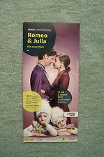 Romeo & Julia - die neue Welt, Stadttheater Mödling 2014, Werbung Flyer
