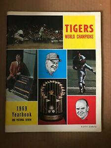 1969 Detroit Tigers Yearbook: Mint!