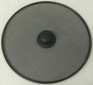 Quality Frying Pan Splatter Screen Guard Frying Pan Round Black Mesh Cover 28cm