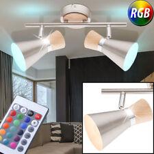 LED RVB Luminaire de plafond VARIATEUR Télécommande LA VIE ESPACE lampe chrome