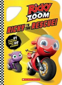 RICKY TO THE RESCUE RICKY ZOOM NUEVO  SCHOLASTIC INC. PAPERBACK