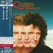 """QUEEN """"THE MIRACLE"""" JPN JAPAN SHM SACD 2012 *SEALED*"""