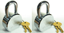 Lock Set by Master 6230KA (Lot of 2) KEYED ALIKE Solid Steel Extreme Security