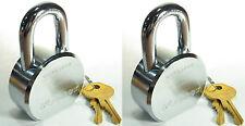Lock Set by Master 6230KA (Lot of 2) KEYED ALIKE Solid Steel Extreme Security