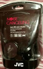JVC - Noise-Cancelling Black Headphones