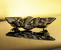 WING Pin Embraer 145 ERJ WINGS gold for Pilot Airline Crew E-145