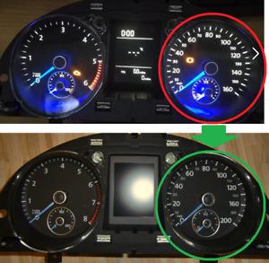 VW GOLF 6 Rline Passat 3C/CC DIAL face 200KM/H