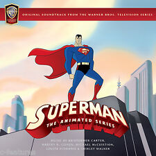 SUPERMAN ANIMATED SERIES 4-CD La-La Land TV Score SHIRLEY WALKER Soundtrack OOP!