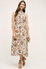 NWT SZ 8 $158 ANTHROPOLOGIE TERRACE MIDI DRESS BY ONE FINE DAY COMFORTABLE