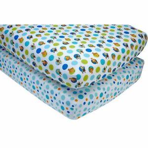 Finding Nemo Crib Sheet 2-Pack by Disney Baby