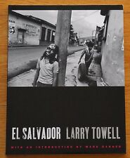 SIGNED - LARRY TOWELL - EL SALVADOR - 1997 1ST EDITION & 1ST PRINTING FINE COPY