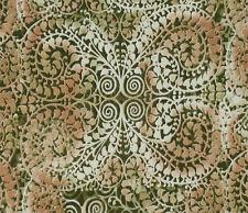 1YD Kaleidesope FILIGREE LACE PAISLEY Henna India Inspired Blank Textiles Fabric