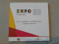 serie divisionale expo Milano 2015 zecca dello stato