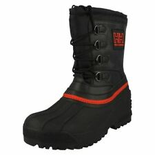 Botas de hombre senderismo color principal negro talla 41
