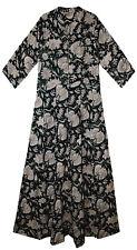 Indian Pocket Vestido US UK M To XL sizing Ethnic Cotton Maxi dress Long Jaipur