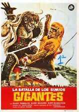 War Of Gargantuas Poster 01 A4 10x8 Photo Print