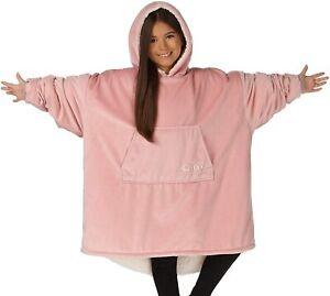 THE COMFY Original Oversized Blanket Sweatshirt for Kids - On Shark Tank, Pink