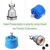 Heat Lamp Bulb Poultry Brooder Chicks Egg Hatching Thermostat Puppies Piglet UK