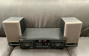 Sony TC-WR635S Cassette Deck With Dolby S Noise Reduction./ tested/