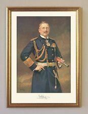 Kaiser Wilhelm II Marina Uniforme Binoculares Cuerda Alemán Imperio A3 04