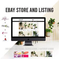 Ebay store & Listing Template Black theme design, coin, coins - FREE LOGO DESIGN