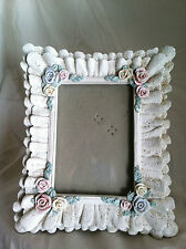 """Lace and Roses Picture Frame holds 4.5"""" x 3.25"""" Picture Table Top"""