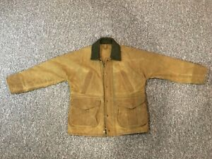 Filson Tin Cloth Field Jacket Large Style 641 Like New