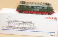 MÄRKLIN 3449 E-Lok BR 204 001-2 der DR Epoche 4/6 Museumslok der DB AG, sehr gut