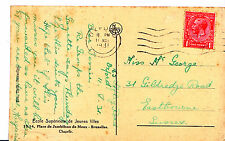 Genealogy Postcard - Family History - Mc George - Eastbourne - Sussex   A1047