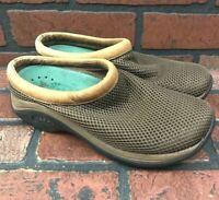 Merrell Primo Breeze Mocha Mesh Slide Mule Comfort Clog Shoes Women's Size 7