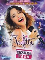 VIOLETTA BACKSTAGE PASS DISNEY DVD nuovo sigillato italiano