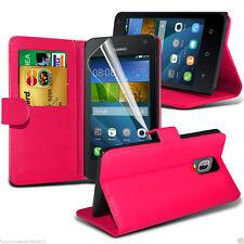 Fundas y carcasas color principal rosa de piel sintética para teléfonos móviles y PDAs Huawei