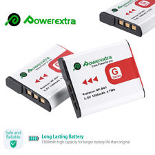 2x NP-BG1 Camera Battery for Sony Cyber-Shot FG1 DSC-W220 DSC-H55 DSC-H20 H10