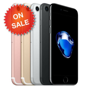 Apple iPhone 7 32GB/64GB/128GB - Gold/Gray/Silver Verizon Unlocked Smartphone