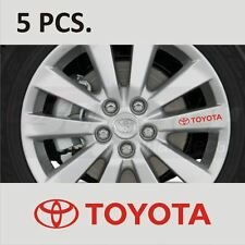 5 pcs Toyota Corolla Camry Supra Tacoma Tundra Door Handle sticker decal