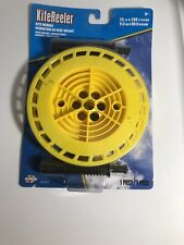 New X Kites 83201 Kite Reel Winder With 200 Ft Thread Strong Yellow