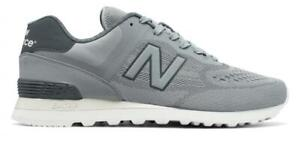 New Balance 574 Re-Engineered Shoes Men's Mesh Sneaker Grey Casual Trainers US9