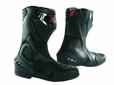 Paddock Motorcycle Motobike Sport Boots Track performance Sonicmoto Black 45