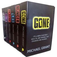 Gone series Michael Grant Collection 6 Books Set Light Hunger Lies Plague Fear
