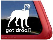 Got Drool? | High Quality Bullmastiff Dog Window Decal Sticker
