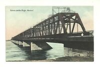VICTORIA JUBILEE BRIDGE, MONTREAL, QUEBEC, CANADA VINTAGE POSTCARD