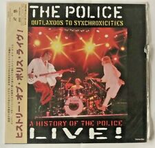 """LASERDISC """"The Police - Outlandos to Sychronicities"""" JAPAN"""