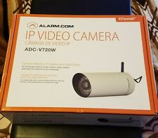 New Alarm.com ADC-V720W Outdoor Wireless IP Bullet Camera w/ Night Vision